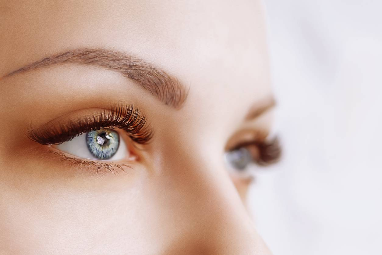 HD Brown and Eye Lash Extensions Markham