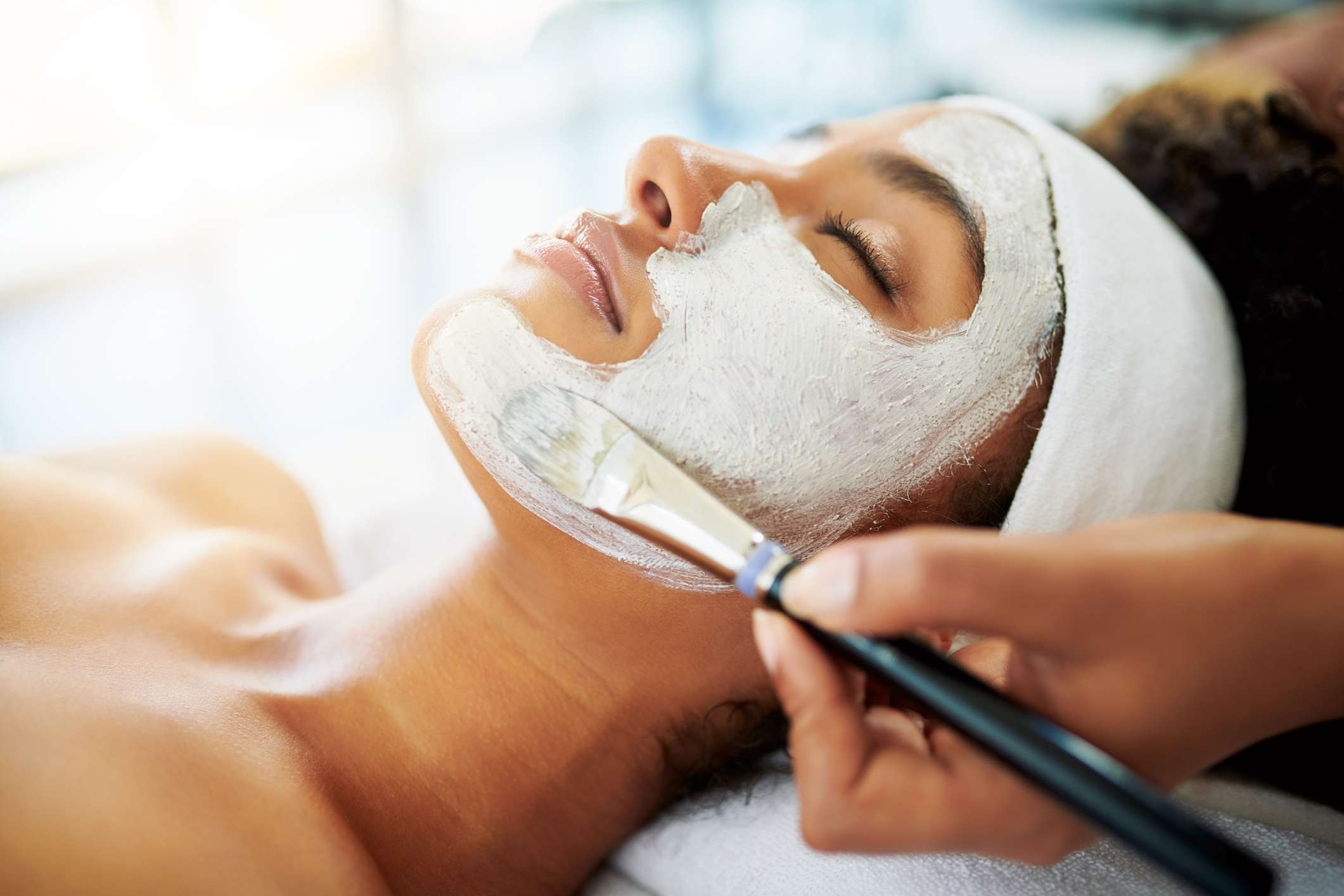 Spa Services include Facial Treatments, Lash Extensions, Microdermabrasion, HD Brow Lamination